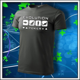 Evolution Poker - tmavá bridlica