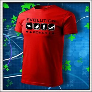 Evolution Poker - červené