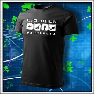 Evolution Poker - čierne