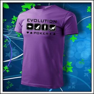 Evolution Poker - fialové
