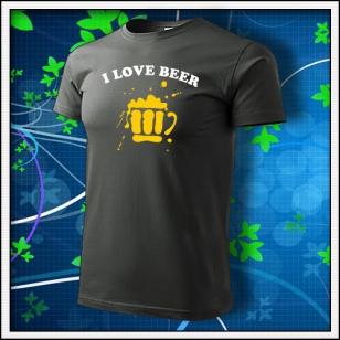 I Love Beer - tmavá bridlica