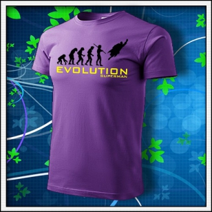 Evolution Superman - fialové