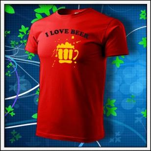 I Love Beer - červené