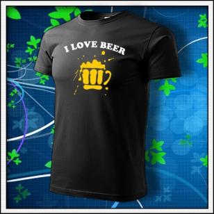I Love Beer - čierne