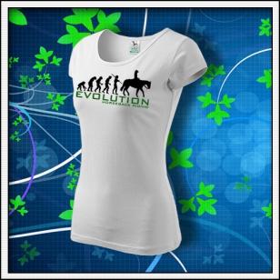 Evolution Horseback Riding - dámske biele