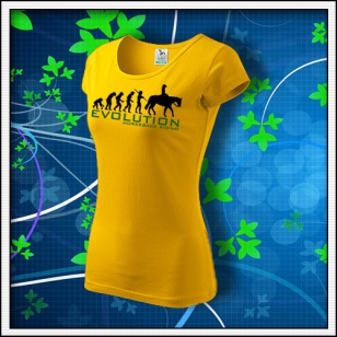 Evolution Horseback Riding - dámske žlté