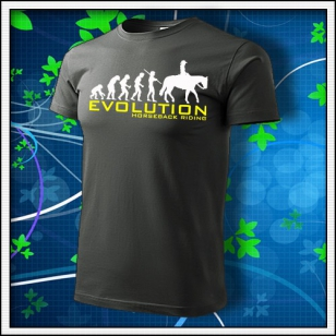 Evolution Horseback Riding - tmavá bridlica