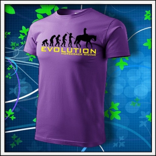 Evolution Horseback Riding - fialové