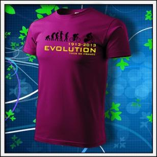 Evolution Tour de France - fuchsia red