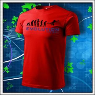 Evolution Football - červené