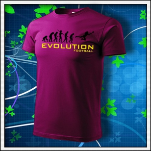 Evolution Football - fuchsia red