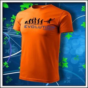 Evolution Football - oranžové