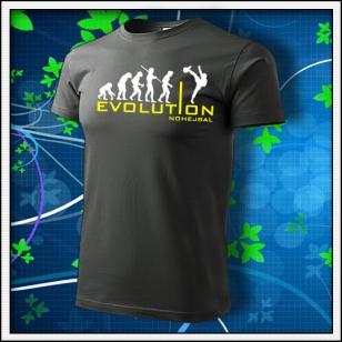 Evolution Nohejbal - tmavá bridlica
