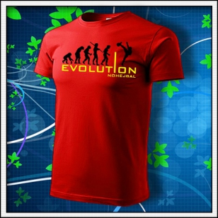 Evolution Nohejbal - červené