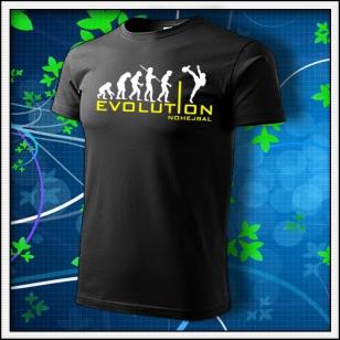 Evolution Nohejbal - čierne