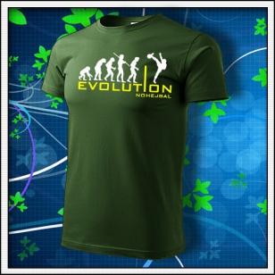 Evolution Nohejbal - fľaškovozelené