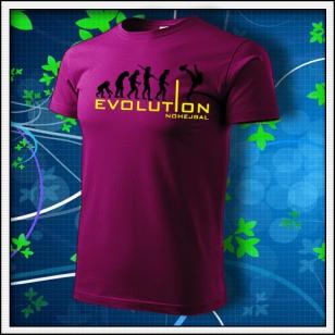 Evolution Nohejbal - fuchsia red