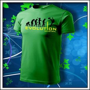 Evolution Nohejbal - trávovozelené