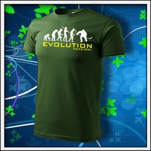 Evolution Hokejbal - fľaškovozelené