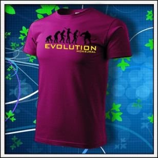 Evolution Hokejbal - fuchsia red