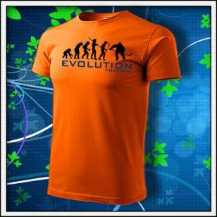 Evolution Hokejbal - oranžové