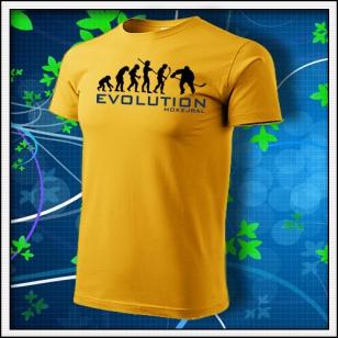 Evolution Hokejbal - žlté