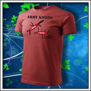 Army Knives - bordové