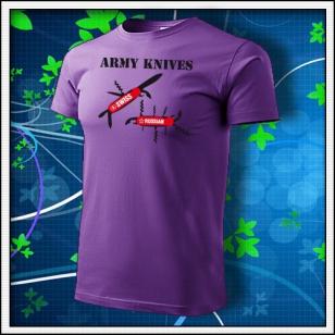 Army Knives - fialové