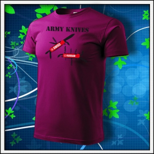 Army Knives - fuchsia red