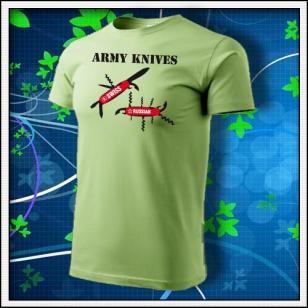 Army Knives - hráškovozelené
