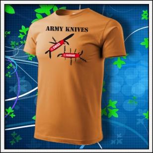 Army Knives - jantárové