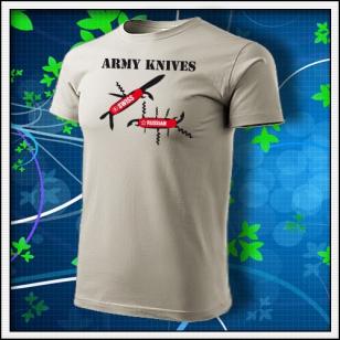 Army Knives - ľadovosivé