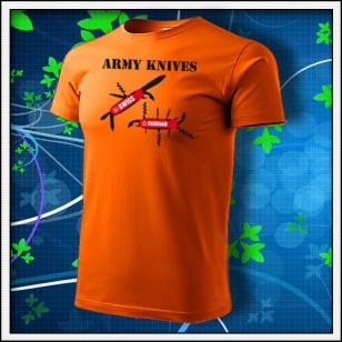 Army Knives - oranžové