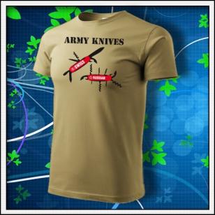 Army Knives - pieskové
