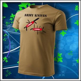 Army Knives - tabakové