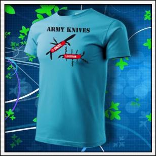 Army Knives - tyrkysové