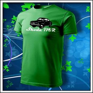Škoda 110R - trávovozelené