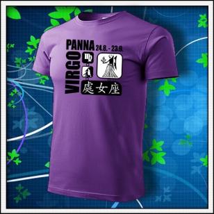 Znamenie Panna - fialové