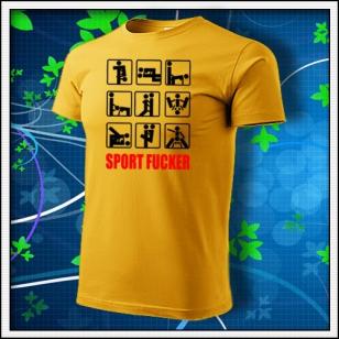Sport Fucker - žlté