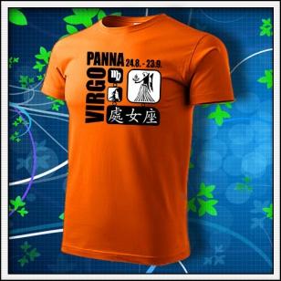 Znamenie Panna - oranžové
