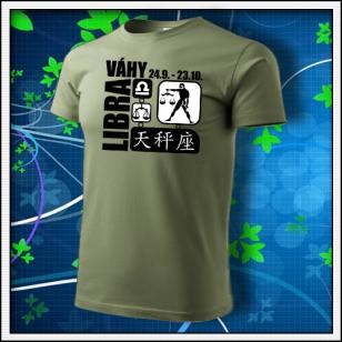Znamenie Váhy - khaki