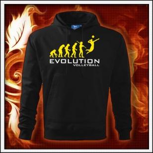 Evolution Volleyball - čierna mikina