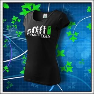 Evolution Minecraft - dámske čierne