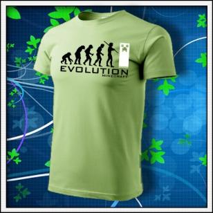 Evolution Minecraft - hráškovozelené