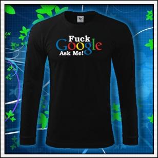 F*ck Google Ask Me - čierne DR pánske