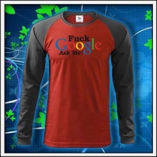 F*ck Google Ask Me - červené DR pánske