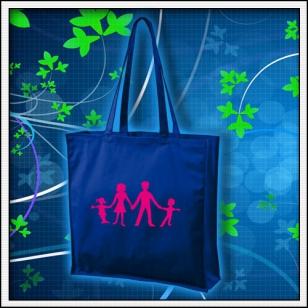 Symbol rodiny - kráľovská modrá taška