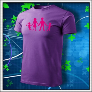 Symbol rodiny - fialové