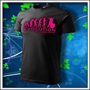 Evolution Ballroom Dance - unisex s ružovou neónovou potlačou