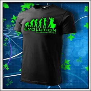 Evolution Ballroom Dance - unisex so zelenou neónovou potlačou